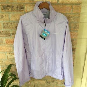 Columbia Switchback Jacket Windbreaker Purple Rain